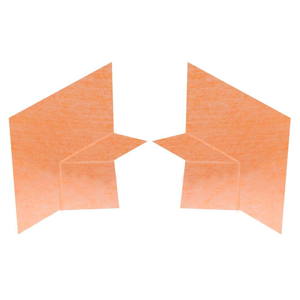 Kerdi-Kers-B Waterproofing Bench Corners (1 Right + 1 Left)