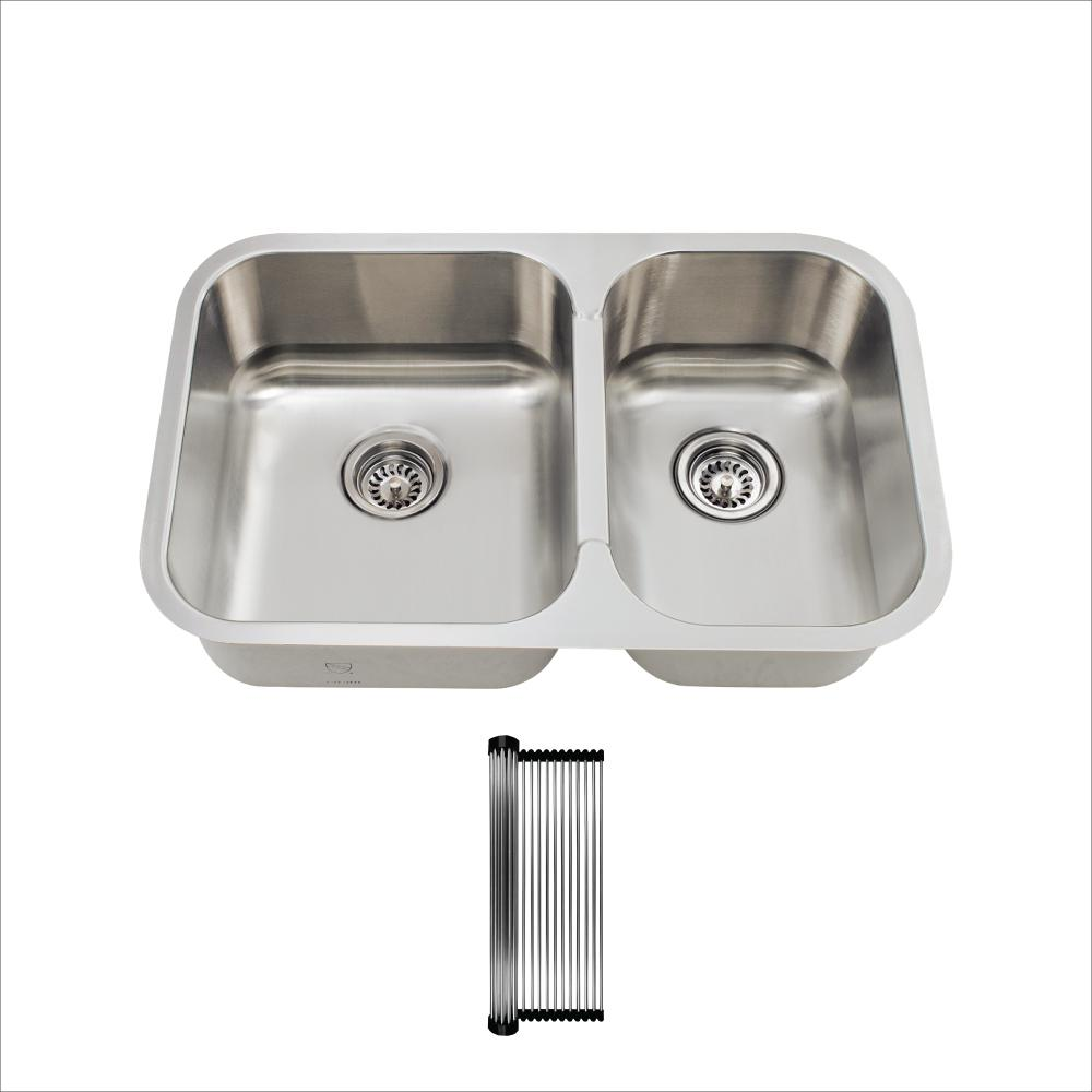 Mr Direct All In One Undermount Stainless Steel 27 1 2