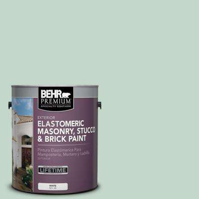 1 gal. #MS-64 Mesa Verde Elastomeric Masonry, Stucco and Brick Paint