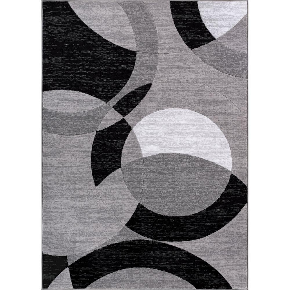 Well Woven Dulcet Bingo Grey 8 Ft X 10 Ft Geometric Area