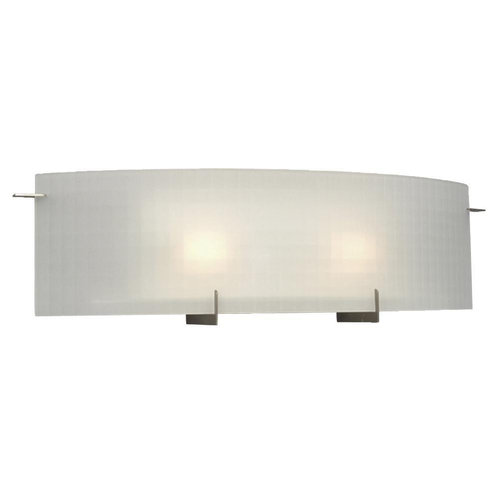 Filament Design Negron 2-Light Pewter Halogen Bath Vanity Light