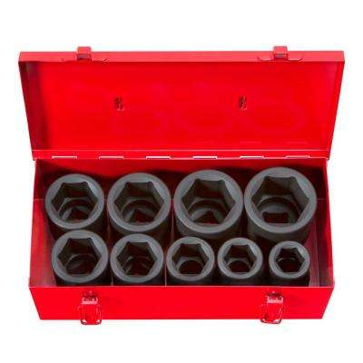 1 in. Drive 1-2 in. 6-Point Deep Impact Socket Set
