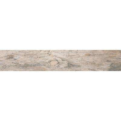 Redwood Natural 6 in. x 24 in. Glazed Porcelain Floor and Wall Tile (10 sq. ft./case)
