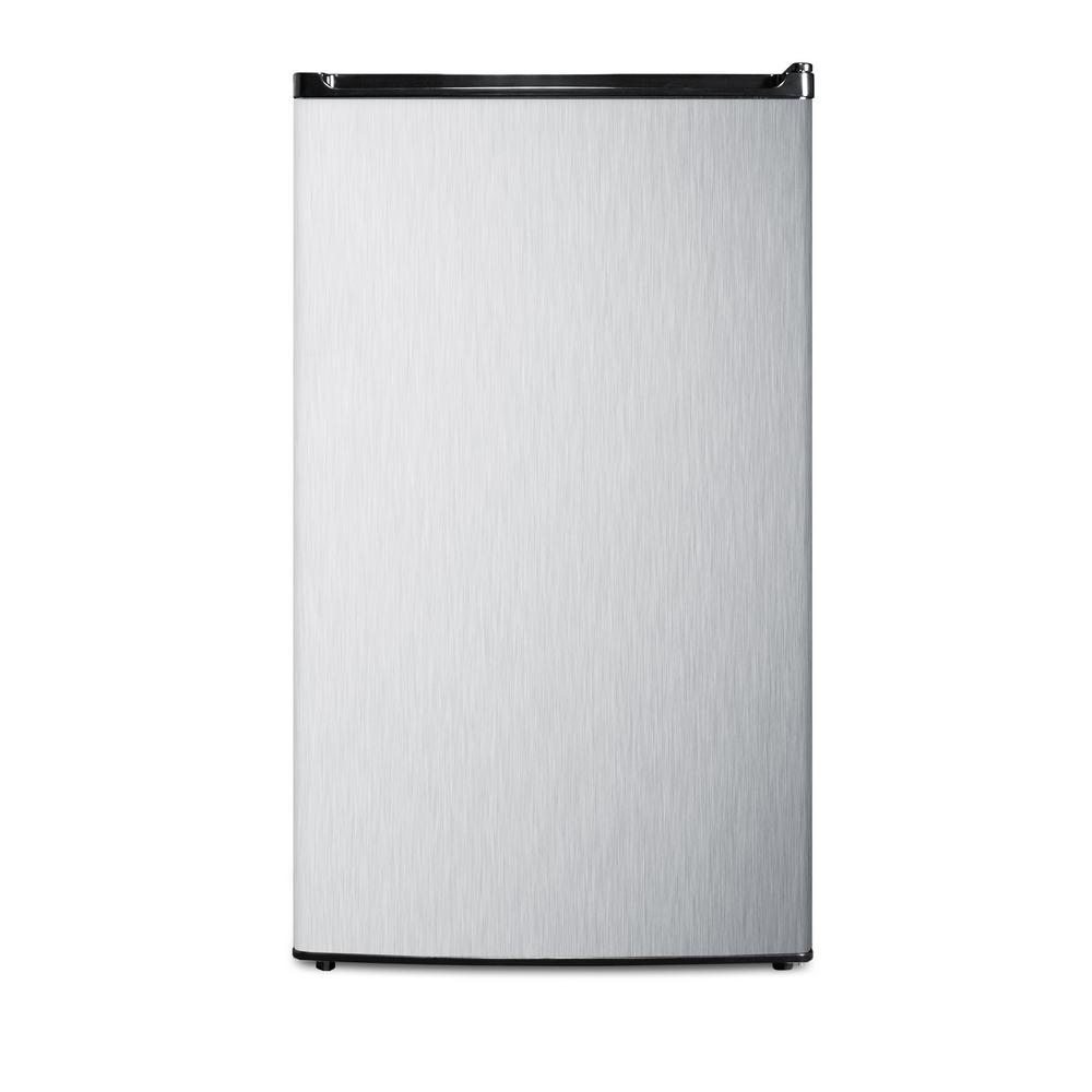 Summit 3.6 cu.ft. Mini Refrigerator in Stainless Steel, E...