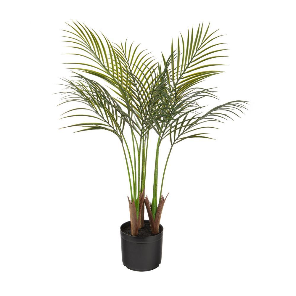 Areca Palm 35 in. Indoor/Outdoor Artificial