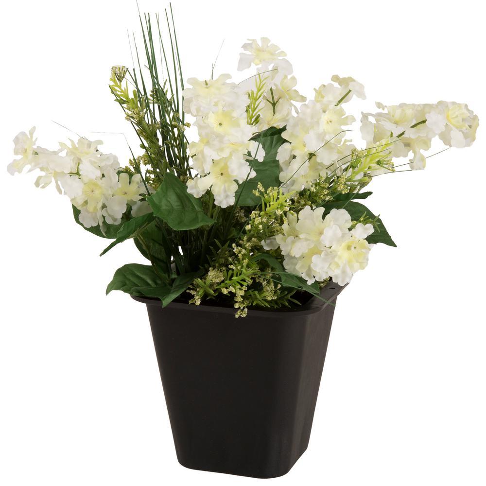 Pure Garden 8.25 Qt. Portable Plastic Planter Pot With Lip on
