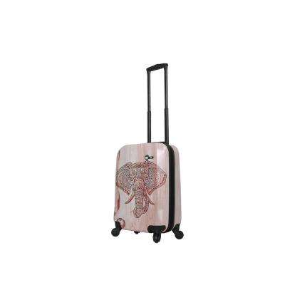 Joao 20 in. Elephant Spinner Suitcase