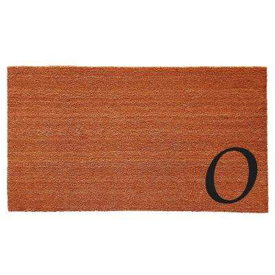 Urban Chic 18 in. x 30 in. Monogram O Door Mat