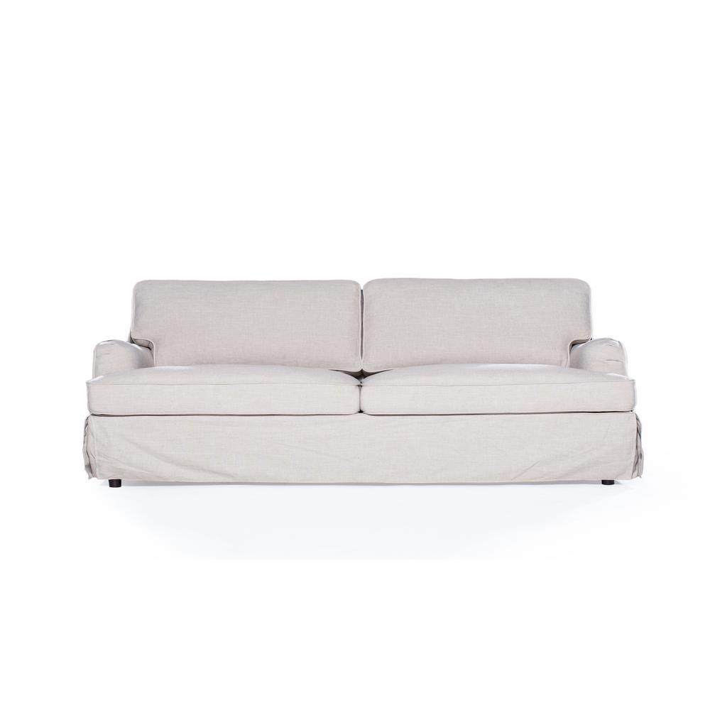 sofas 2 go delaney cornstarch sofa s2g m11 s sky21 the home depot. Black Bedroom Furniture Sets. Home Design Ideas