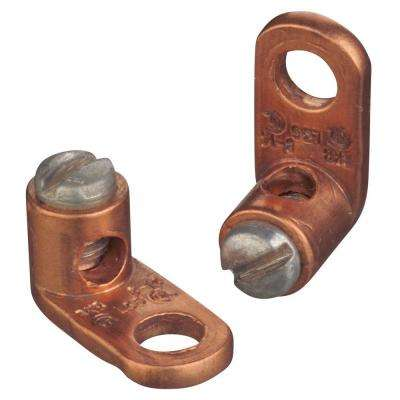 Copper Type L Mechanical Connectors for #8 Stranded to #14 Solid Wire (10 Pieces)