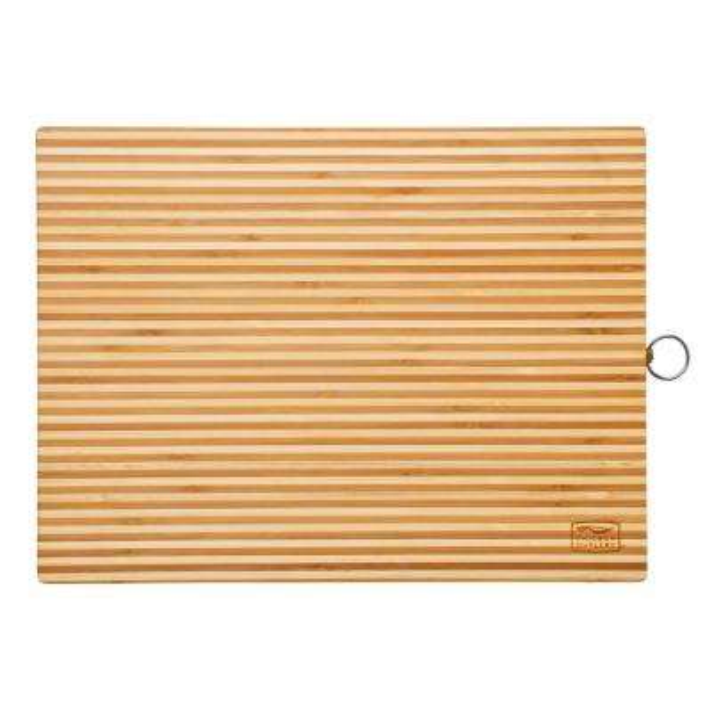 Woodworks Bamboo Two Tone 16 in. x 12 in. Cutting Board
