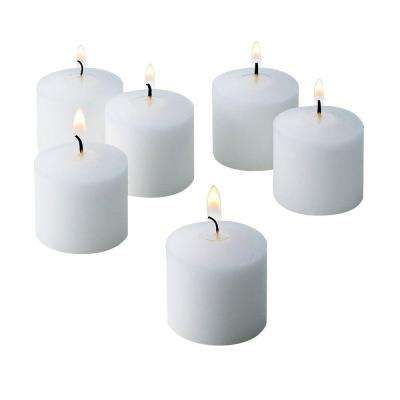 10 Hour Fresh Linen Scented Votive Candle (Set of 72)