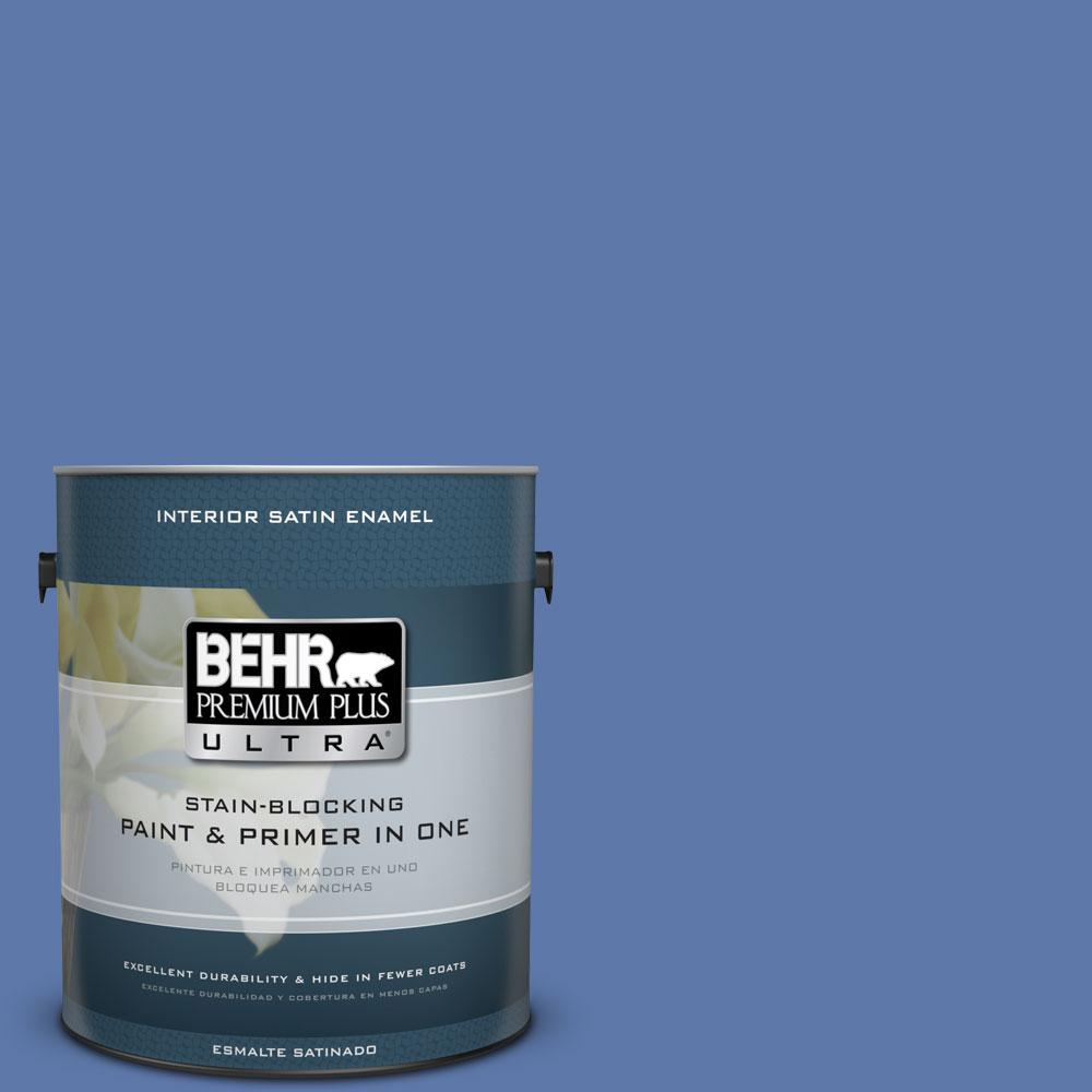 BEHR Premium Plus Ultra Home Decorators Collection 1-gal. #HDC-FL13-7 Soulful Satin Enamel Interior Paint