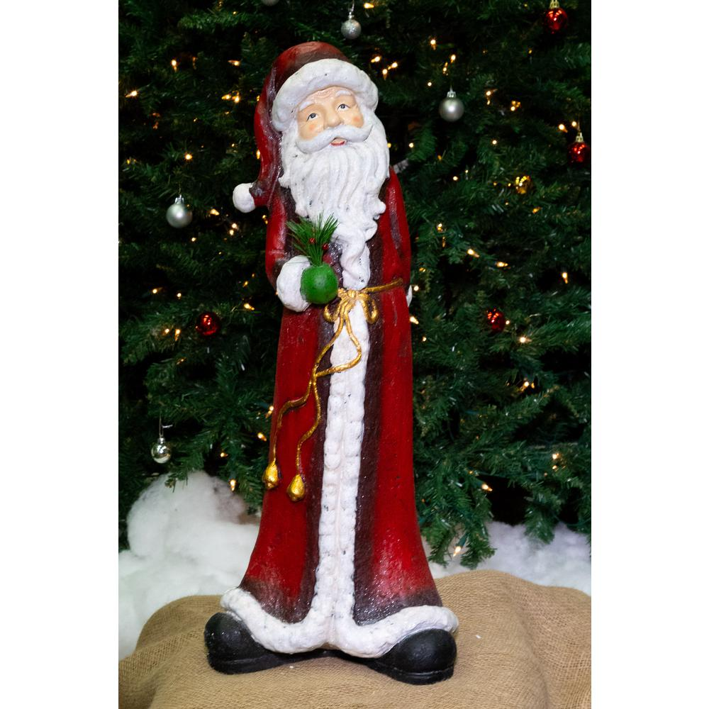 Christmas Tall Skinny Santa Statuary
