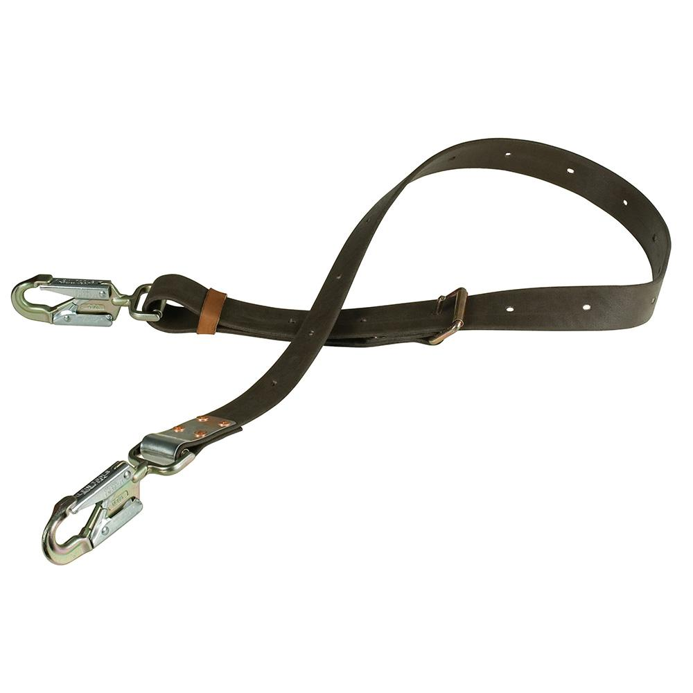 Klein Tools 7 ft. Positioning Strap with 6-1/2 in. Snap Hook