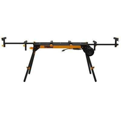 Universal 124 in. Miter Saw Stand and GFCI