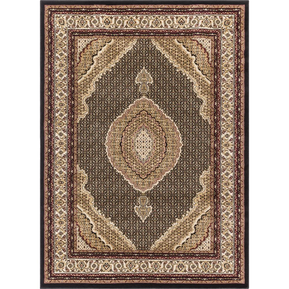 Well Woven Luxbury Mahal Traditional Vintage Persian