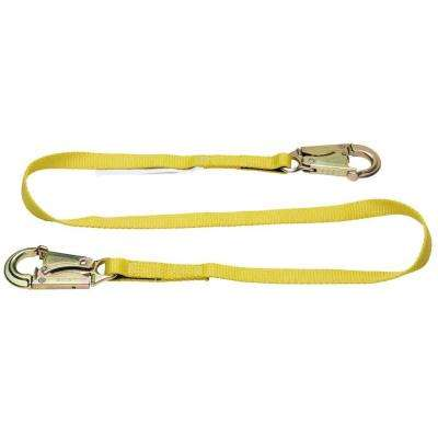 Upgear 4 ft. Web Positioning Lanyard (1 in. Web, 2 Snap Hook)