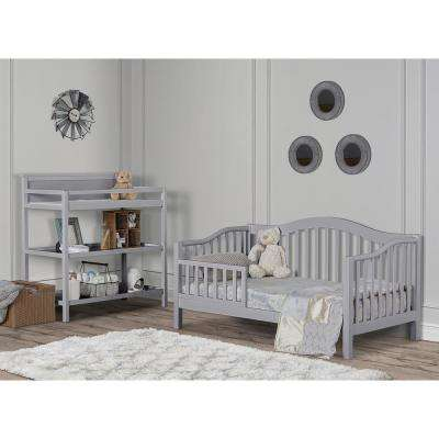 Austin Pebble Grey Toddler Adjustable Day Bed