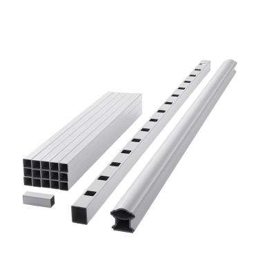 ArmorGuard Classic 70 in. White Composite Rail Kit