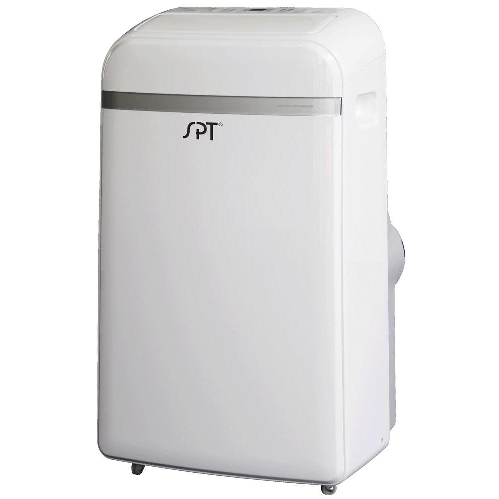 Spt 12 000 btu portable air conditioner with heat wa 1240h for 11000 btu window air conditioner