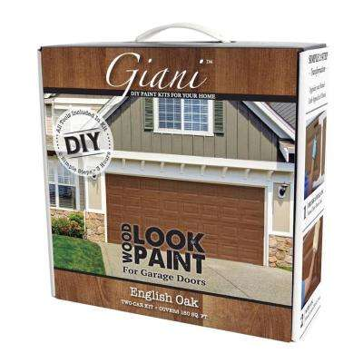 English Oak 2 Car Garage Kit