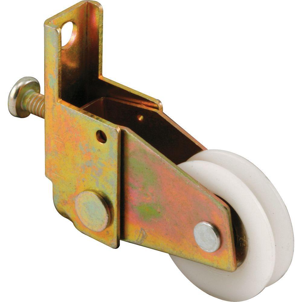 1 in. Nylon Ball Bearing Wheel Crossly Screen Door Roller Assembly