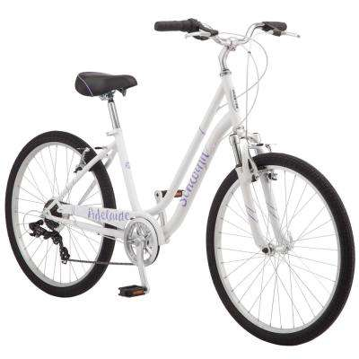 26 in. Women's' Bike in White