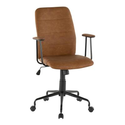 Frederick Brown Faux Leather Office Chair