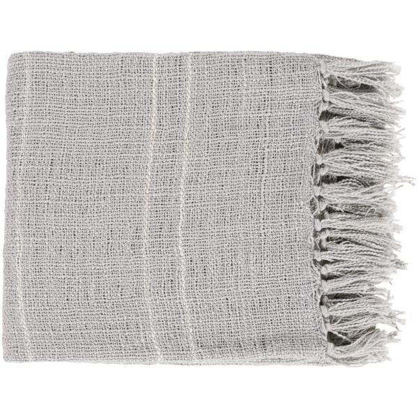 Artistic Weavers Elenora Silver Acrylic Throw S00151045464