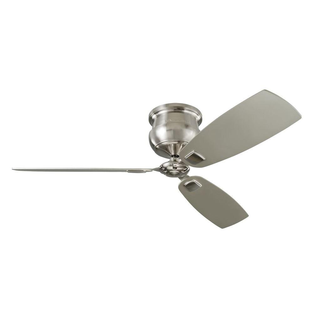 MONTECARLO Cannondale 56 in. Indoor Brushed Steel Ceiling...