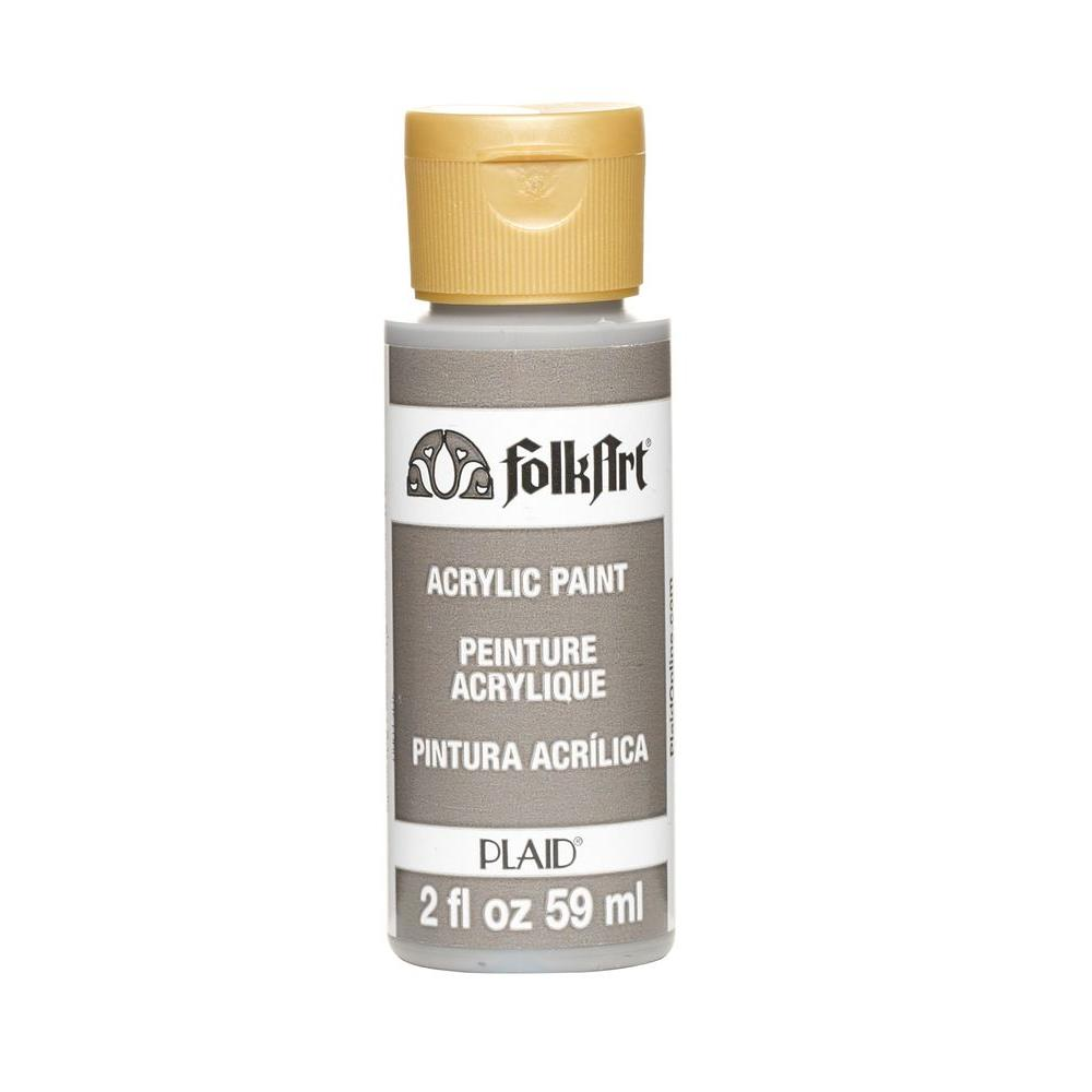 FolkArt 2 oz. Medium Gray Acrylic Craft Paint