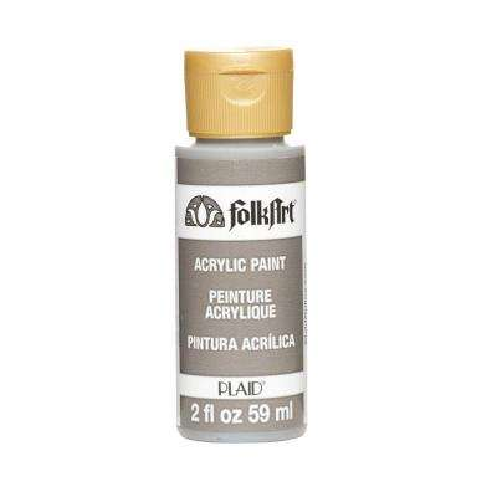 2 oz. Medium Gray Acrylic Craft Paint