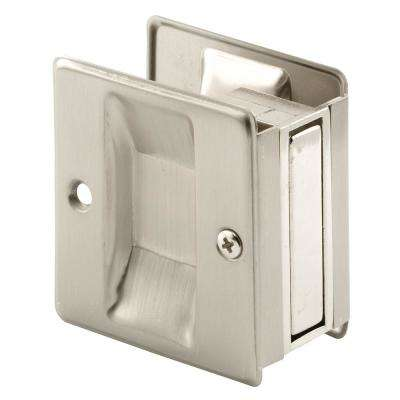 Satin Nickel, Pocket Door Pull