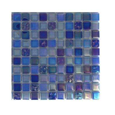 Capriccio Battipaglia Glass Mosaic Floor and Wall Tile - 3 in. x 6 in. x 8 mm Tile Sample