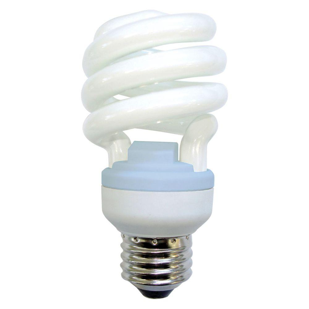 GE Reveal 60W Equivalent Reveal (2500K) A-Line Spiral CFL Light Bulb (2-Pack)
