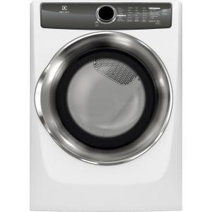 Electrolux 8.0 cu. ft. Electric Dryer with Steam in White, ENERGY STAR by Electrolux