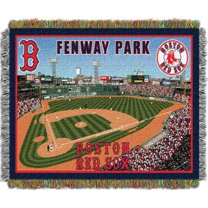 New Fenway Park Multi Color Stadium Tapestry throw by