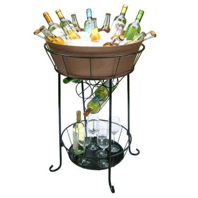 beverage tub drink w galvanized stand
