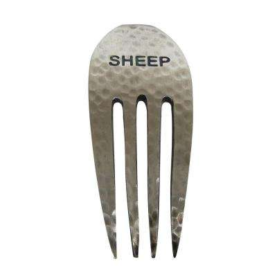 Rustic Sheep Cheese Fork Marker