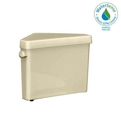 Triangle Cadet Pro 1.6 GPF Single Flush Toilet Tank Only in Bone