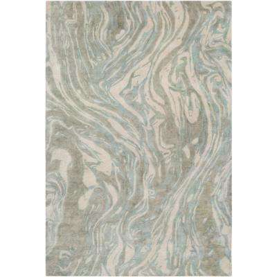 Harpswell Teal 2 ft. x 3 ft. Accent Rug