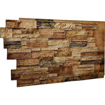 1-1/2 in. x 48 in. x 25 in. Saturn Urethane Dry Stack Stone Wall Panel