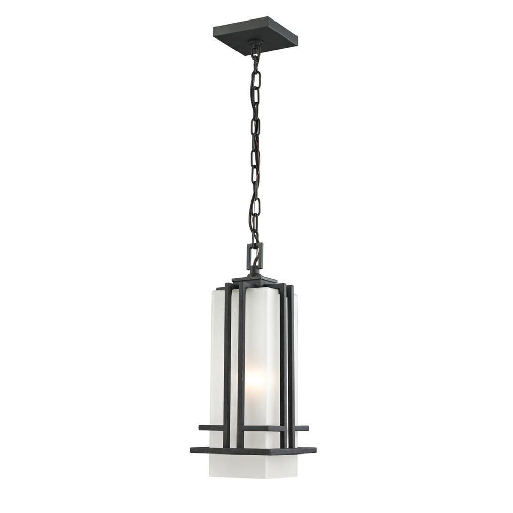 Filament Design Bay Black Light Outdoor Pendant-CLI-JB