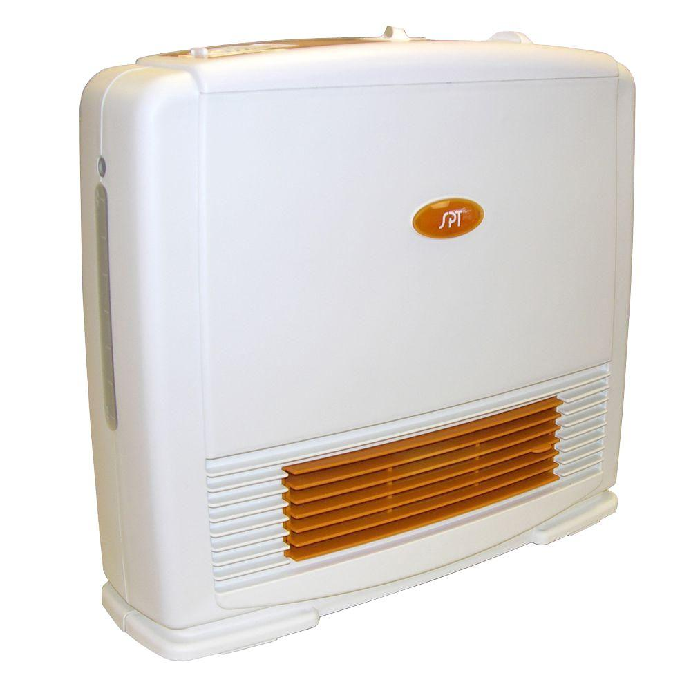 15 in.1200 - Watt Ceramic Heater with Humidifier and Thermostat