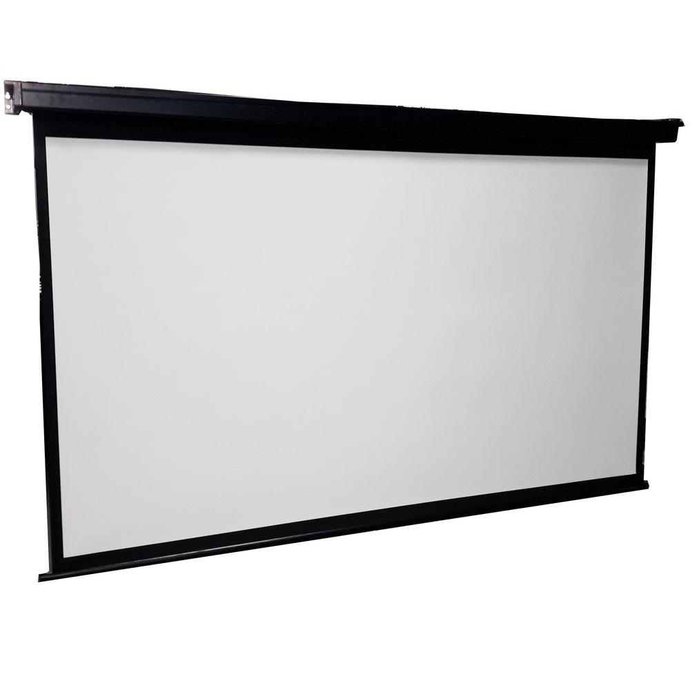 proHT ProHT 84 in. Manual Projection Screen with Black Frame-05363 ...