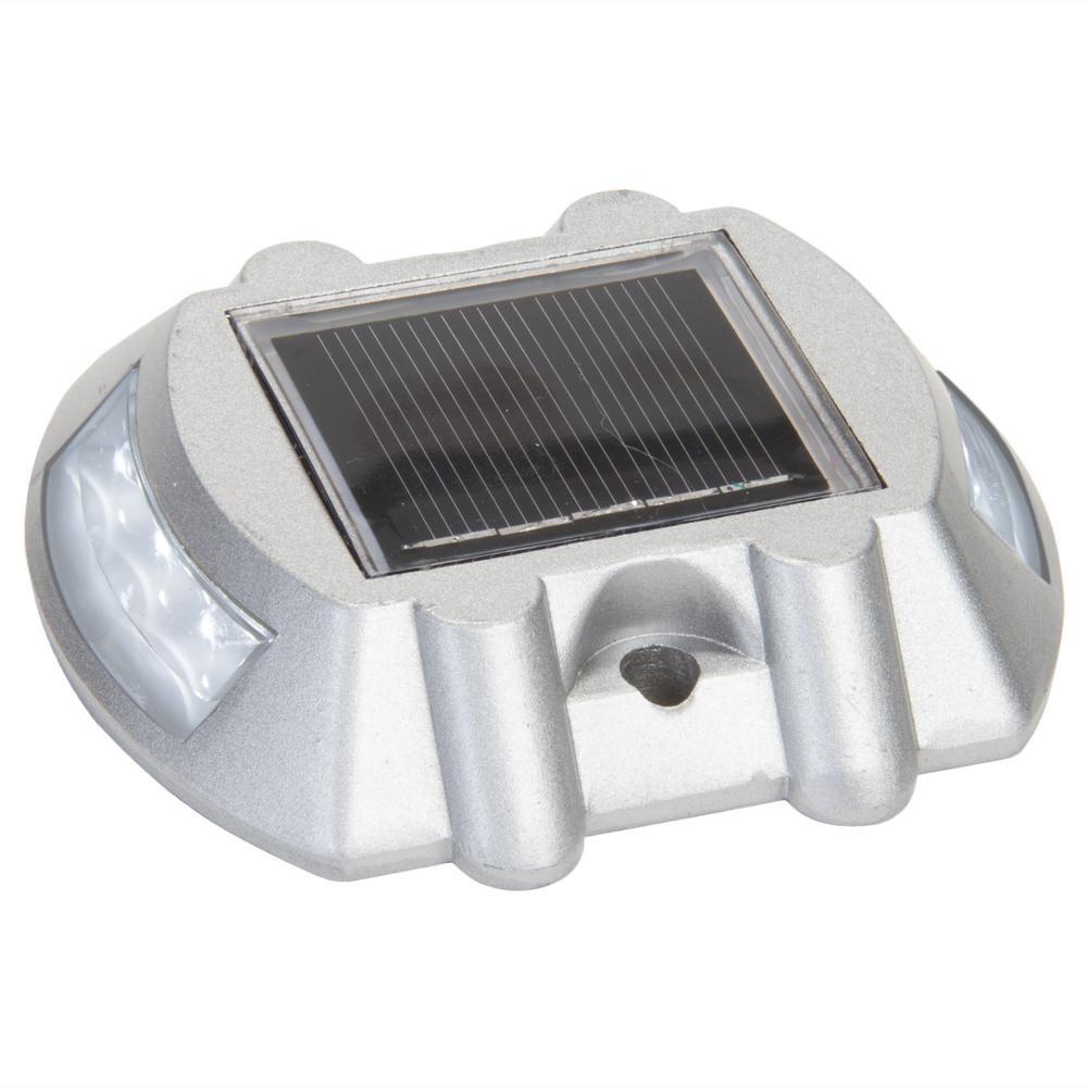 reusable revolution 4 in solar powered integrated led. Black Bedroom Furniture Sets. Home Design Ideas