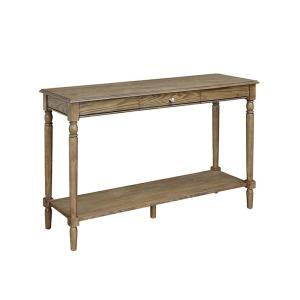 Convenience Concepts French Country Driftwood Drawer And