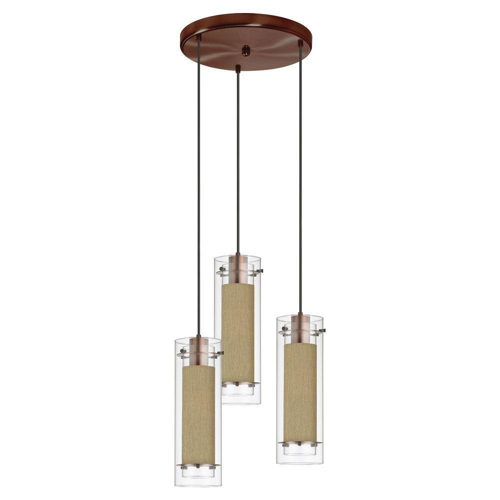brass cluster pendant lights lighting the home depot