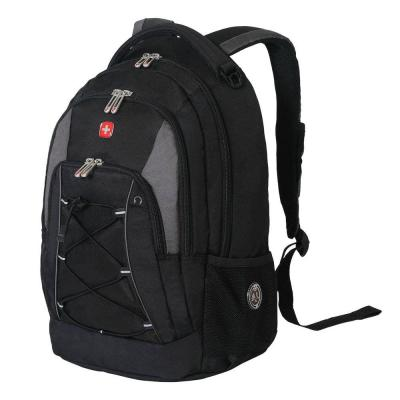 Black and Grey Bungee Backpack